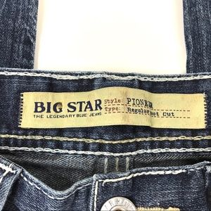 Big Star Jeans - Big Star Pioneer Boot Cut Jeans 34R